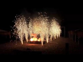 Fire-Show Pyroarte at Beachclub 2011.mp4